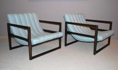 Milo Baughman Pair of Milo Baughman Cube Lounge Chairs - 158275