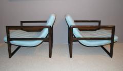 Milo Baughman Pair of Milo Baughman Cube Lounge Chairs - 158276