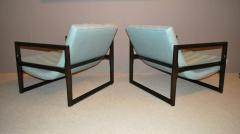 Milo Baughman Pair of Milo Baughman Cube Lounge Chairs - 158277