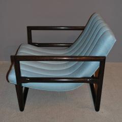 Milo Baughman Pair of Milo Baughman Cube Lounge Chairs - 158279