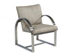 Milo Baughman Pair of Vintage Mid Century Modern Accent Chairs - 1572171