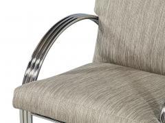 Milo Baughman Pair of Vintage Mid Century Modern Accent Chairs - 1572173