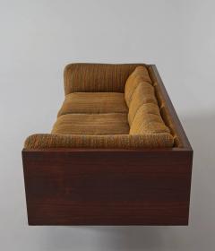 Milo Baughman Rosewood Case Sofa by Milo Baughman for Thayer Coggin