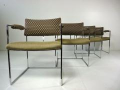 Milo Baughman Set of Four Milo Baughman Chairs - 355090