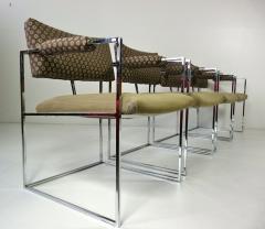 Milo Baughman Set of Four Milo Baughman Chairs - 355091