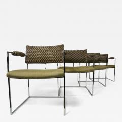 Milo Baughman Set of Four Milo Baughman Chairs - 355517