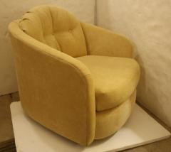 Milo Baughman Single Swivel Chair Attributed to Milo Baughman - 1204756