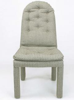 Milo Baughman Six Fully Upholstered Arch Back Dining Chairs Attr Milo Baughman - 197855