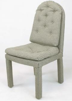 Milo Baughman Six Fully Upholstered Arch Back Dining Chairs Attr Milo Baughman - 197857