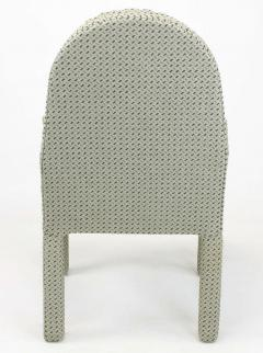 Milo Baughman Six Fully Upholstered Arch Back Dining Chairs Attr Milo Baughman - 197860