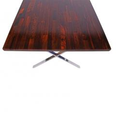 Milo Baughman Solid Rosewood Dining Work Table by Milo Baughman - 870223