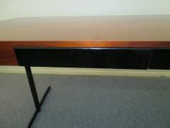 Milo Baughman Stunning Milo Baughman Slim Walnut Desk Mid Century Modern - 1222395