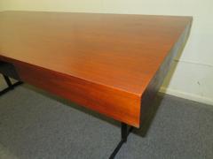 Milo Baughman Stunning Milo Baughman Slim Walnut Desk Mid Century Modern - 1222396