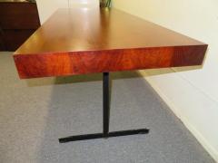 Milo Baughman Stunning Milo Baughman Slim Walnut Desk Mid Century Modern - 1222397