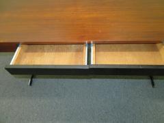 Milo Baughman Stunning Milo Baughman Slim Walnut Desk Mid Century Modern - 1222399