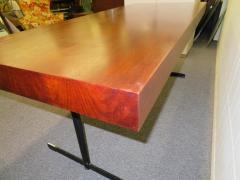 Milo Baughman Stunning Milo Baughman Slim Walnut Desk Mid Century Modern - 1222400