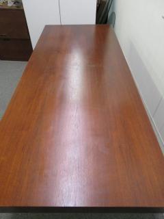 Milo Baughman Stunning Milo Baughman Slim Walnut Desk Mid Century Modern - 1222401