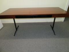 Milo Baughman Stunning Milo Baughman Slim Walnut Desk Mid Century Modern - 1222405