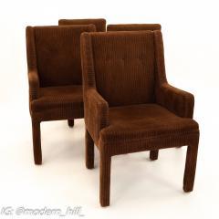 Milo Baughman Style Mid Century Dining Chairs Set of 6 - 1870230