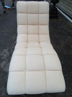 Milo Baughman Sumptuous Milo Baughman Wave Chaise Lounge Chair Midcentury - 1138635
