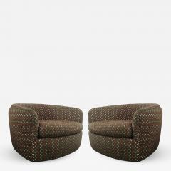 Milo Baughman Swivel Tub Chairs designed by Milo Baughman - 1138172
