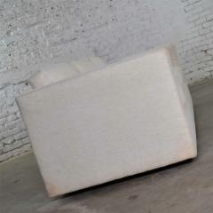 Milo Baughman White modern tuxedo style sofa by milo baughman for thayer coggin - 1668889