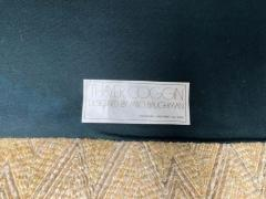 Milo Baughman Wonderful 5 Piece Signed Milo Baughman Curved Back Cube Sectional Sofa - 1709074