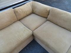 Milo Baughman Wonderful 8 Piece Milo Baughman Curved Seat Sectional Sofa Mid Century Modern - 1032296