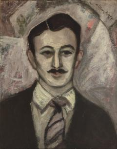 Milton Clark Avery Portrait of Gershon Benjamin  - 1299356