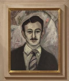 Milton Clark Avery Portrait of Gershon Benjamin  - 1299357