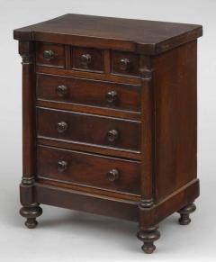 Miniature Mahogany Chest of Drawers Circa 1830 - 1826334