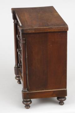 Miniature Mahogany Chest of Drawers Circa 1830 - 1826336