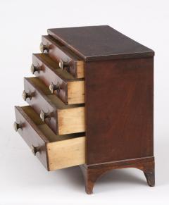 Miniature Pine Chest of Drawers Circa 1860 - 1854622