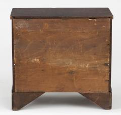 Miniature Pine Chest of Drawers Circa 1860 - 1854623