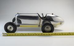 Miniature Tether Race Car Sculpture 1930 Miller Design - 1409564