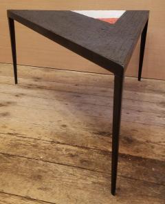 Minimal Triangle Coffee Table Mosaic Netherlands Circa 1960 - 1284797