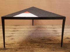 Minimal Triangle Coffee Table Mosaic Netherlands Circa 1960 - 1284798