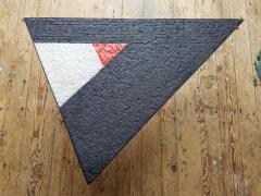 Minimal Triangle Coffee Table Mosaic Netherlands Circa 1960 - 1289556
