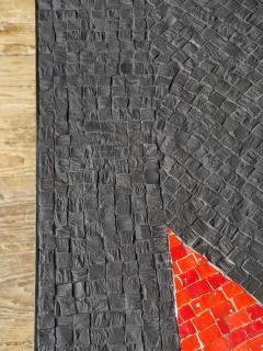 Minimal Triangle Coffee Table Mosaic Netherlands Circa 1960 - 1289558