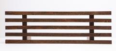 Minimalist Palmwood Bench Netherlands 1970s - 1236723