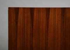 Minimalist mahogany cabinet with subtle rosewood inlay - 1373153