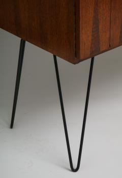 Minimalist mahogany cabinet with subtle rosewood inlay - 1373161