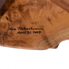 Mira Nakashima Conoid Side Table design by George Nakashima - 1239193