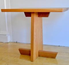 Mira Nakashima Hand Crafted Mira Nakashima White Oak Minguren Table New Hope Studio 1992 - 570001