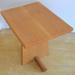 Mira Nakashima Hand Crafted Mira Nakashima White Oak Minguren Table New Hope Studio 1992 - 570003
