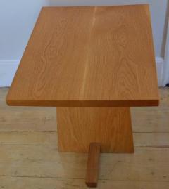 Mira Nakashima Hand Crafted Mira Nakashima White Oak Minguren Table New Hope Studio 1992 - 570004