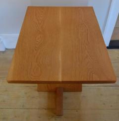Mira Nakashima Hand Crafted Mira Nakashima White Oak Minguren Table New Hope Studio 1992 - 570005