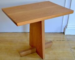 Mira Nakashima Hand Crafted Mira Nakashima White Oak Minguren Table New Hope Studio 1992 - 570006