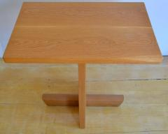 Mira Nakashima Hand Crafted Mira Nakashima White Oak Minguren Table New Hope Studio 1992 - 570007