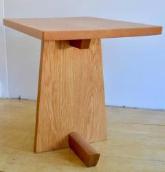Mira Nakashima Hand Crafted Mira Nakashima White Oak Minguren Table New Hope Studio 1992 - 570009